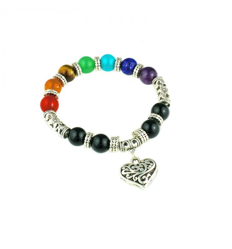 Chakra Heart Bracelet