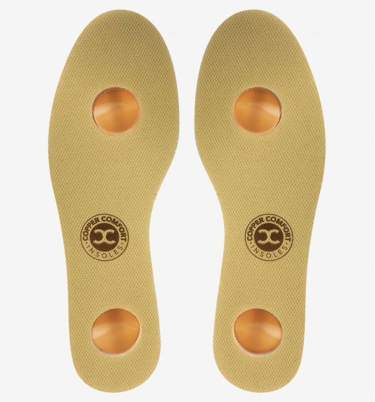 Copper Comfort Insoles. 5% Discount Applied