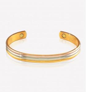 Tri-Tone Bracelet