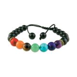 White Jade or Black Onyx Bracelet